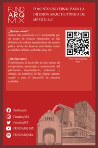 Gracias a la alianza del Consulado General de México en Laredo, el Instituto Cultural Mexicano de Laredo y Fundarq MX cuyo fin es mostrar una cultura arquitectónica de México en la frontera de Laredo, Texas.