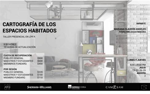 CARTOGRAFÍA DE LOS ESPACIOS HABITADOS