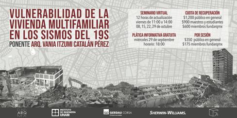 VULNERABILIDAD DE LA VIVIENDA MULTIFAMILIAR EN LOS SISMOS DEL 19S