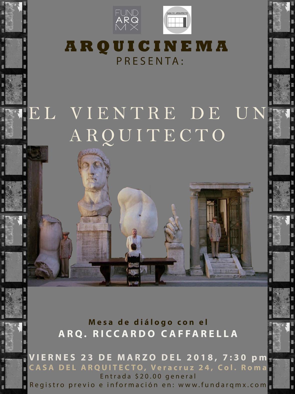 ARQUICINEMA-EL VIENTRE DE UN ARQUITECTO-
