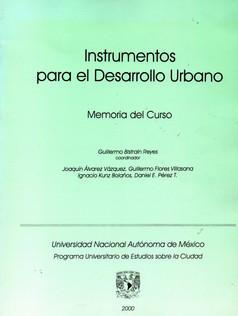 INSTRUMENTOS PARA EL DESARROLLO URBANO