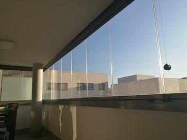 Cortina de Cristal - Cerramiento Balcón