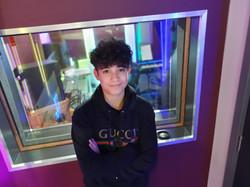 Malek In the Studio