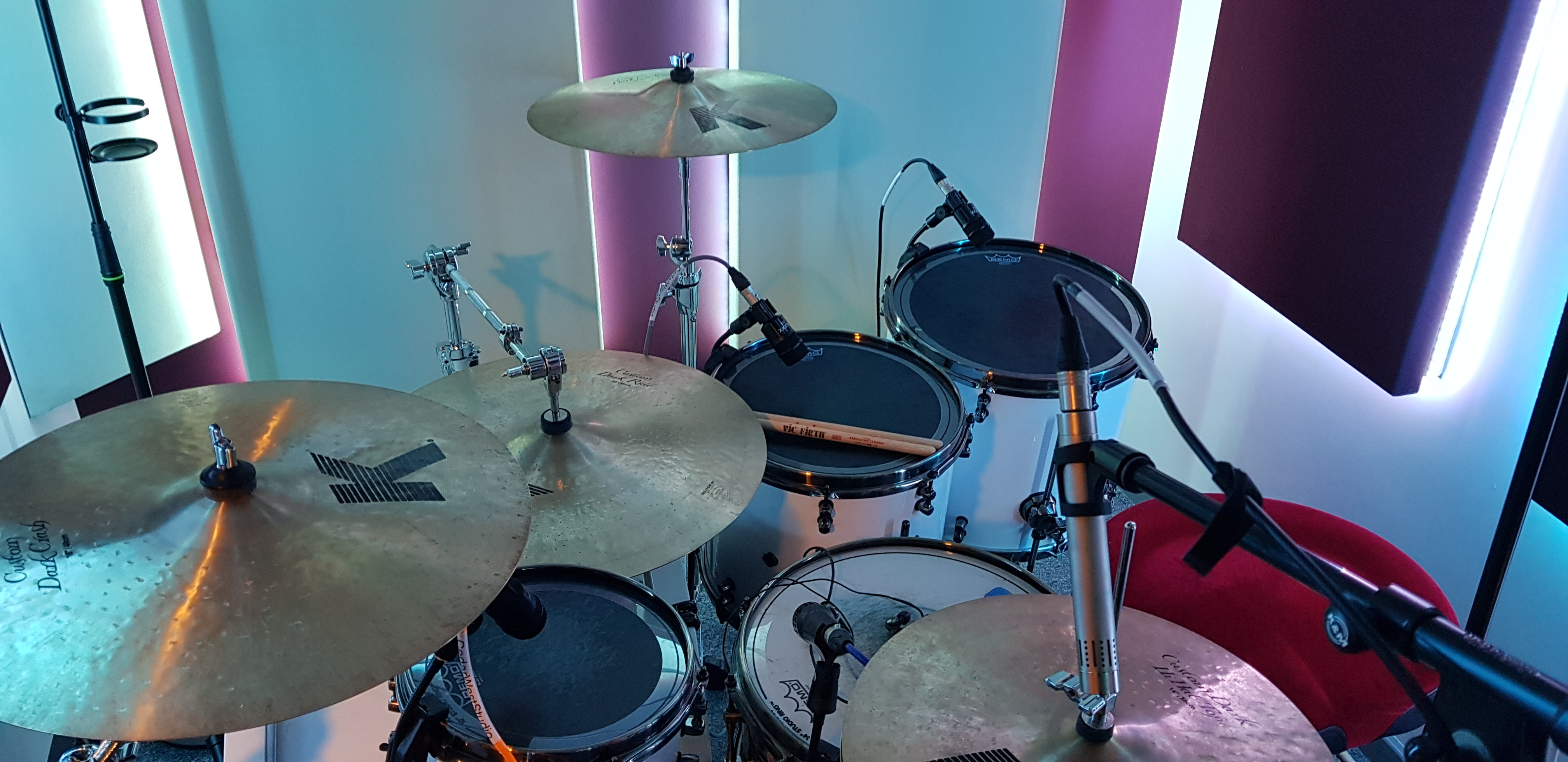 Drum Kit Set Up