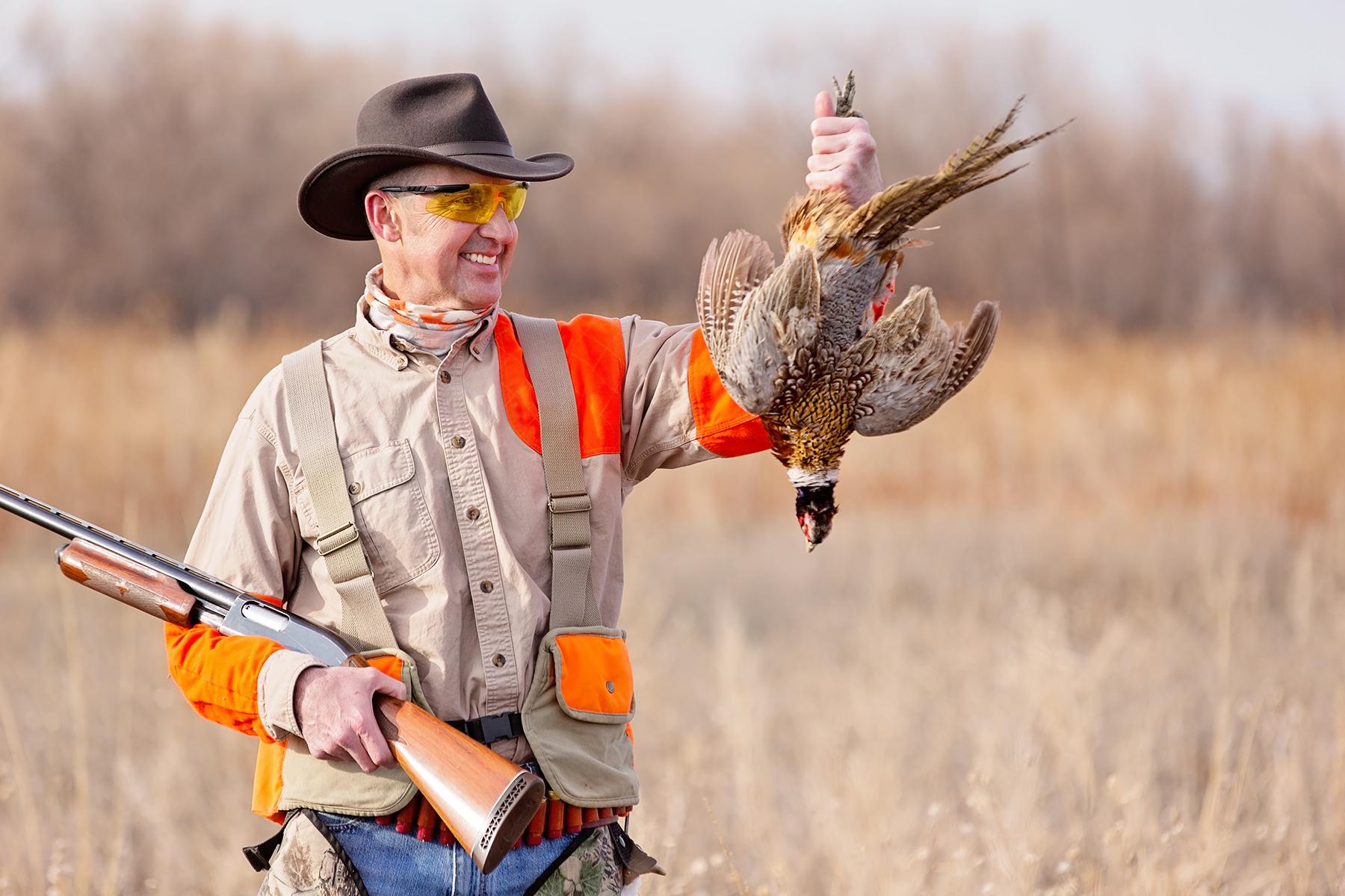 Steve w-pheasant