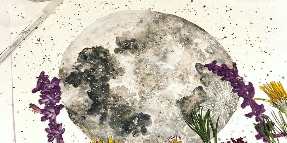 Full Moon & Flowers Workshop with Ashra Artistry