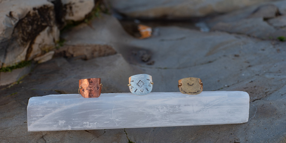 The Art of Ritual Jewelry: Ring Stamping