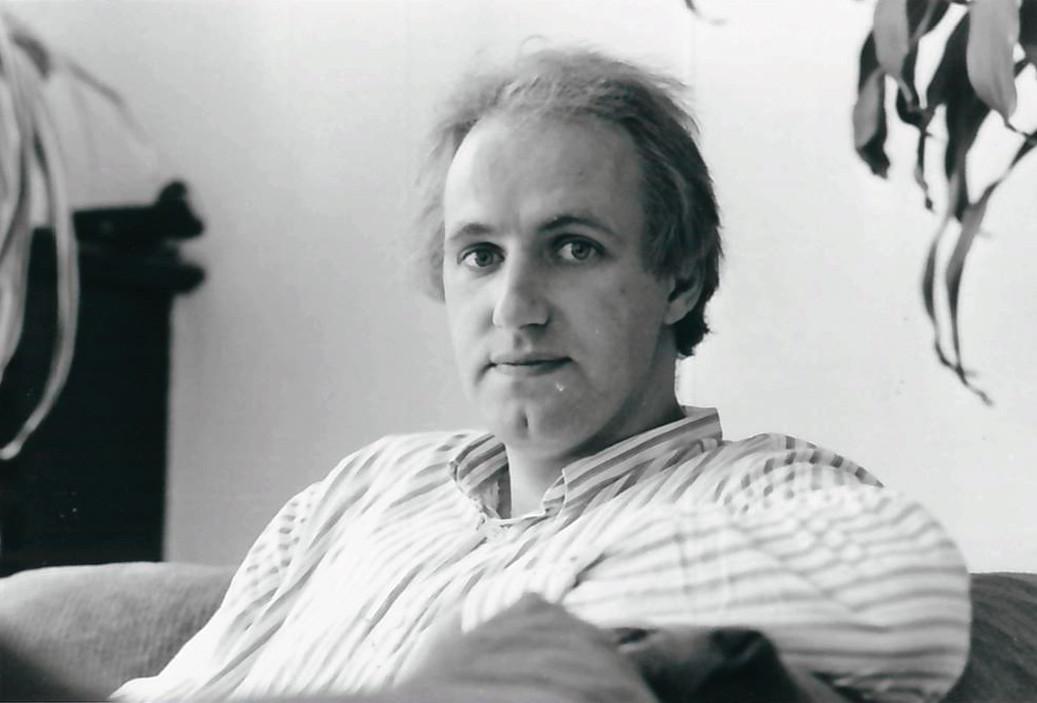 Rob Meyst in 1986