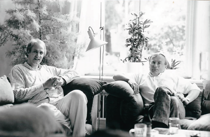 Rob Meyst and Wim Corbier in 1986