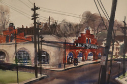 Painting of our old location on Dorcester