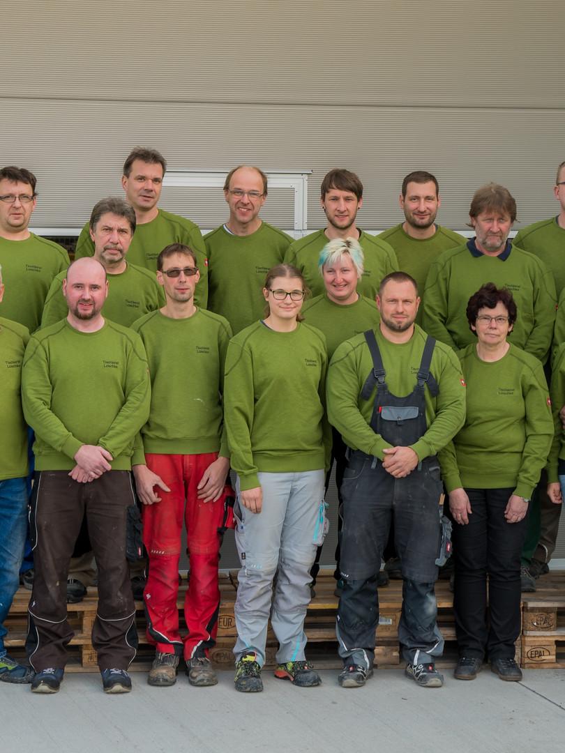 Team der Tischlerei Loschke