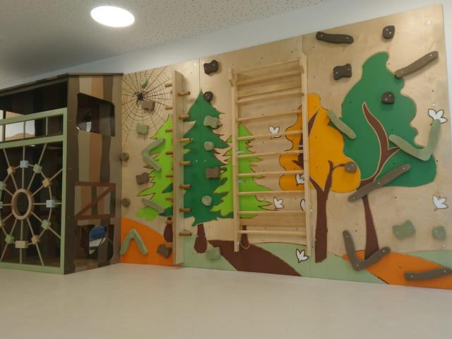 Kindertagesstätte Kletterwand