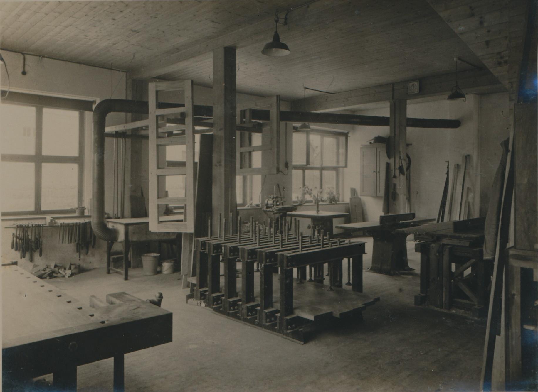 Alte Werkstatt 1933