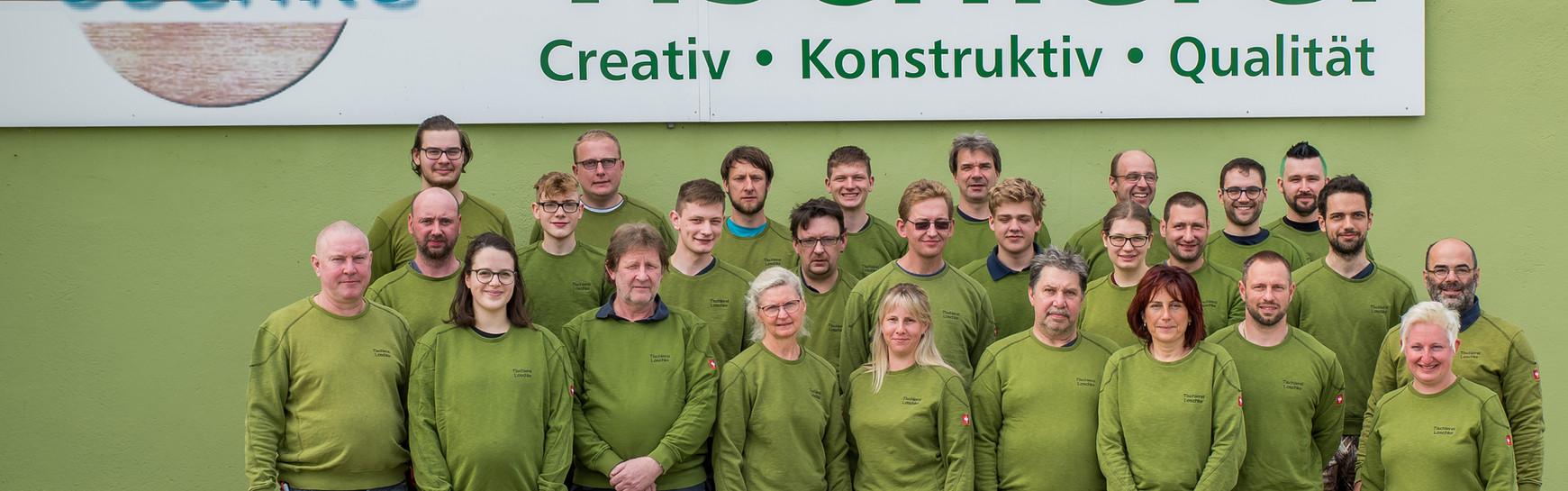 Team der Tischlerei Loschke GmbH