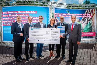 Tischlerei Loschke GmbH 2. Platz Zukunfspreis 2014