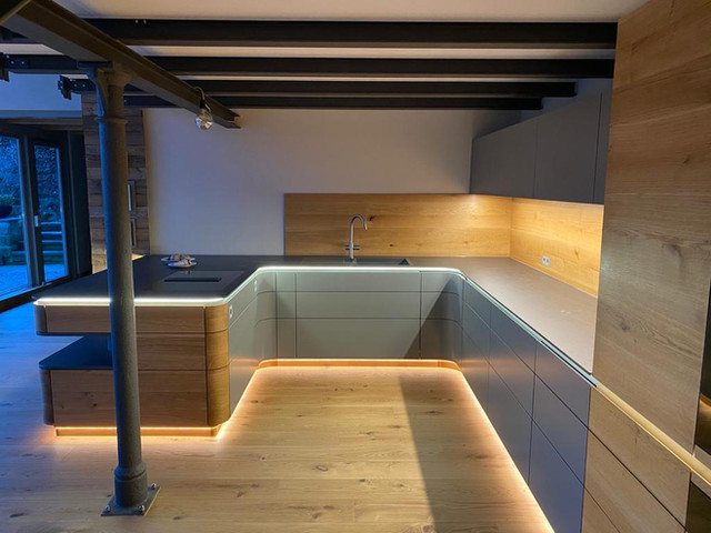Privater Küchenausbau