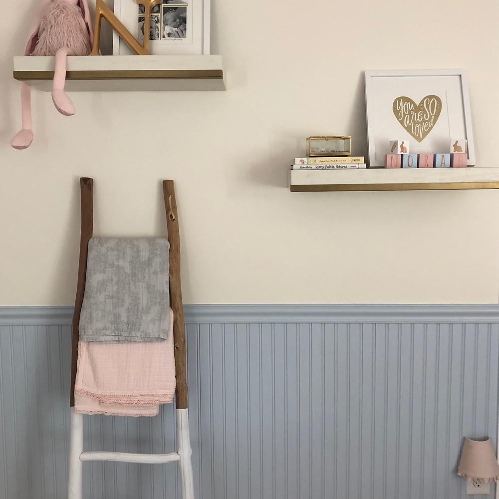 Boho Modern Bunny Nursery