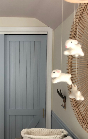 Our Boho-Modern Bunny Nursery Revealed!