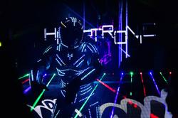 Robo de led do Hipertronic