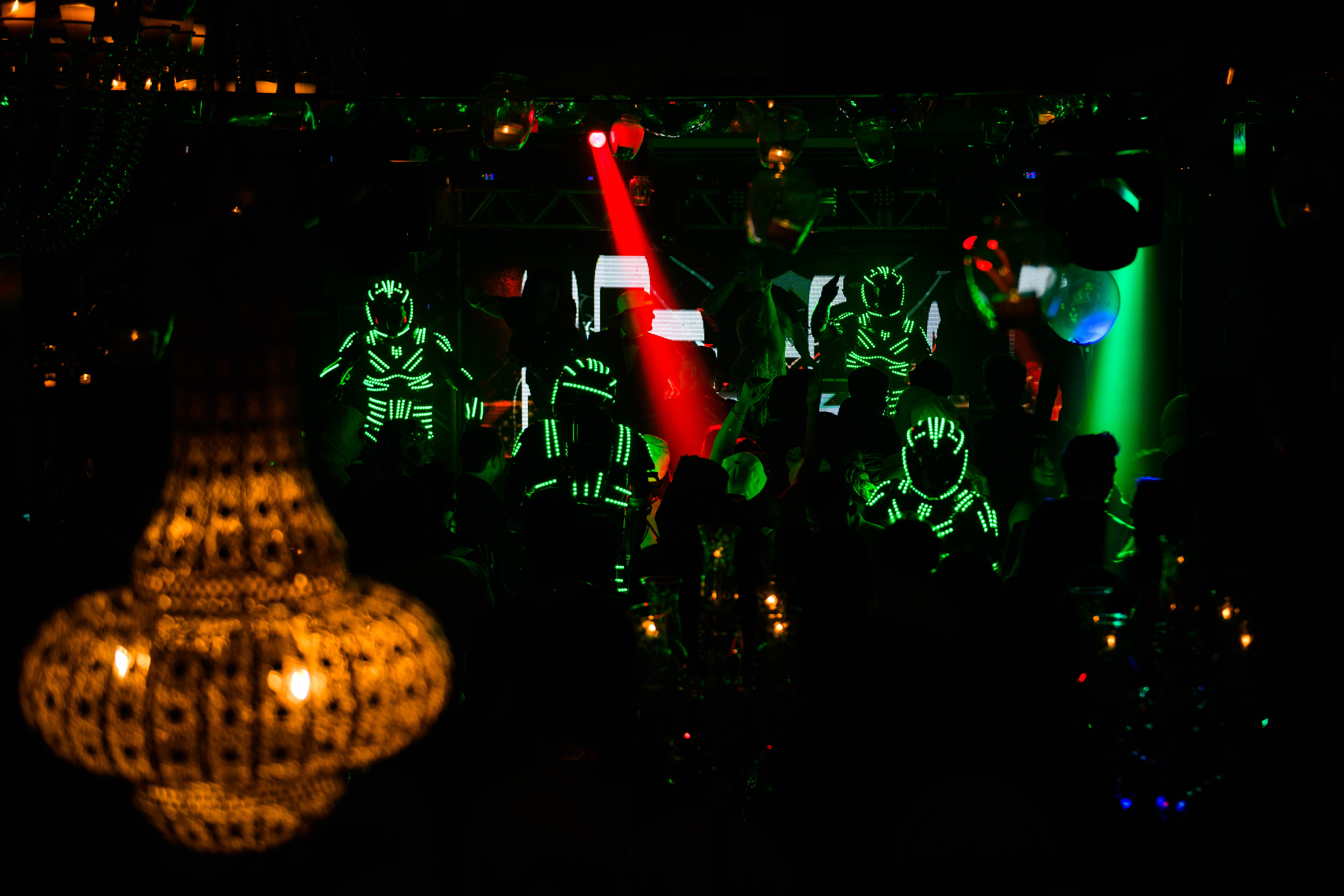 Robos de led em festa de 15 anos