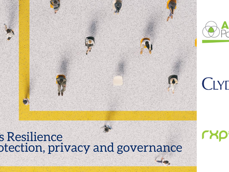 Business Resilience, Data protection, Privacy and Governance webinar takeaways