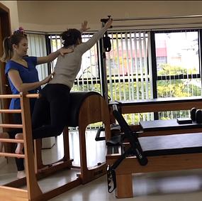 Aula de pilates individual