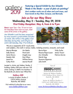 Gallery 209 Show May 2018