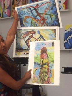 Roxana Rojas' Art Presentation