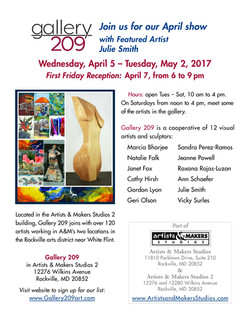 Gallery209- April 2017 Show