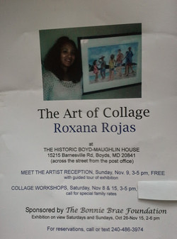 The Art of Collage by Roxana Rojas