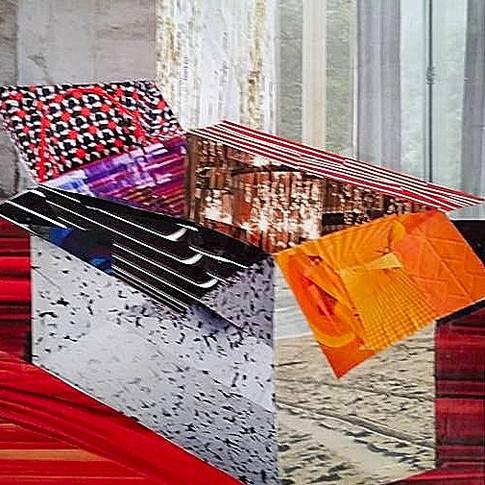 """Box"" by Roxana Rojas-Luzon collage"
