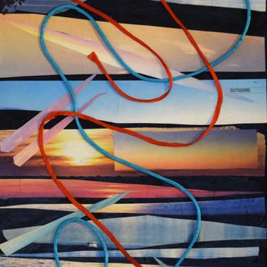 """Swirl"" by Roxana Rojas-Luzon collage"
