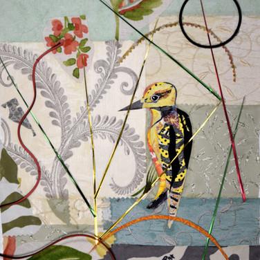 """Bird 3"" collage by Roxana Rojas-Luzon"