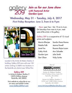 Gallery209- June 2017 Show