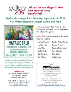 Gallery209- July 2017 Show