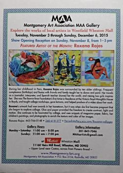 Roxana Rojas Featured Artist