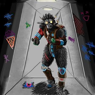 bounty hunter brawler  Raun-shaka resubm