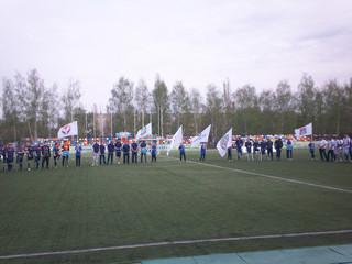 Мы на чемпионате России по футболу !