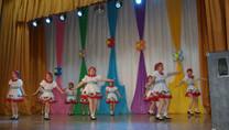 Творческий концерт Образцового ансамбля танца «Сударушка» и  Образцовой цирковой студии «Калейдоскоп