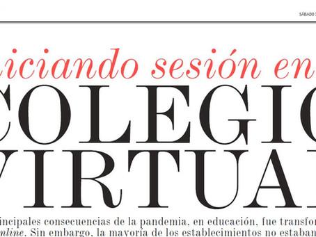 Entrevista en Diario El mercurio