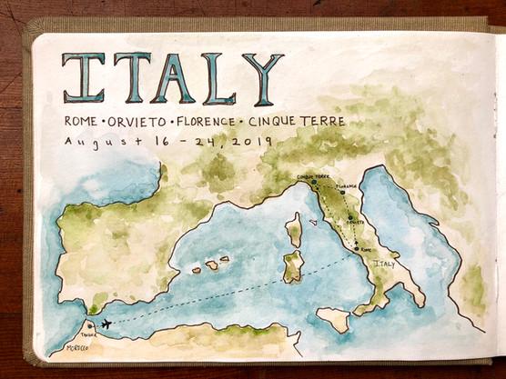 Exploring Italy - Part 1