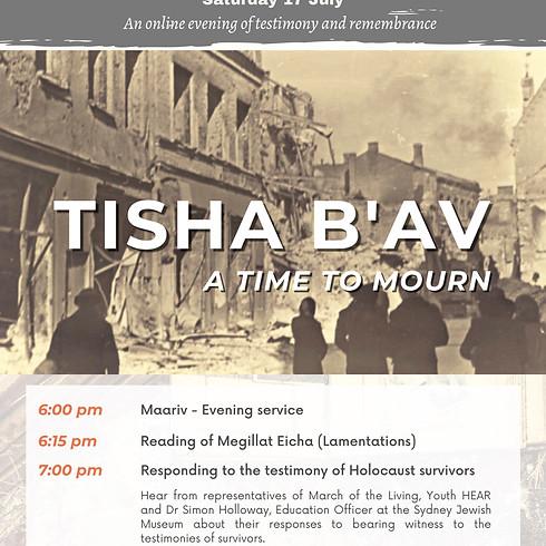 Tisha B'Av - A Time to Mourn
