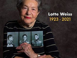 """In Memoriam - Lotte Weiss z""""l"""