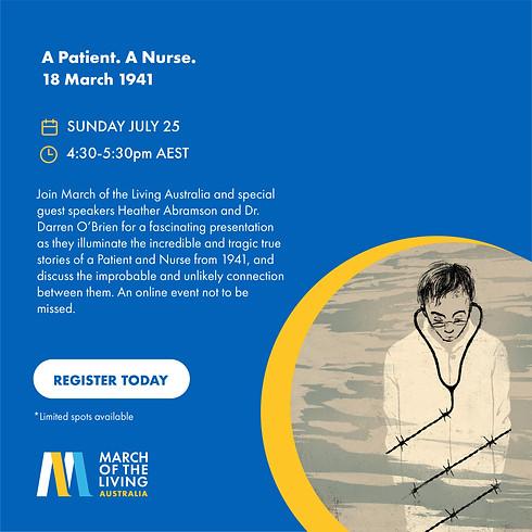 A Patient. A Nurse. 18 March 1941.