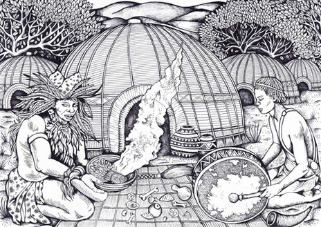 Sangoma ritual