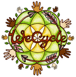 WeCycle logo detailed colour