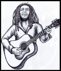 Bob marley Illustration