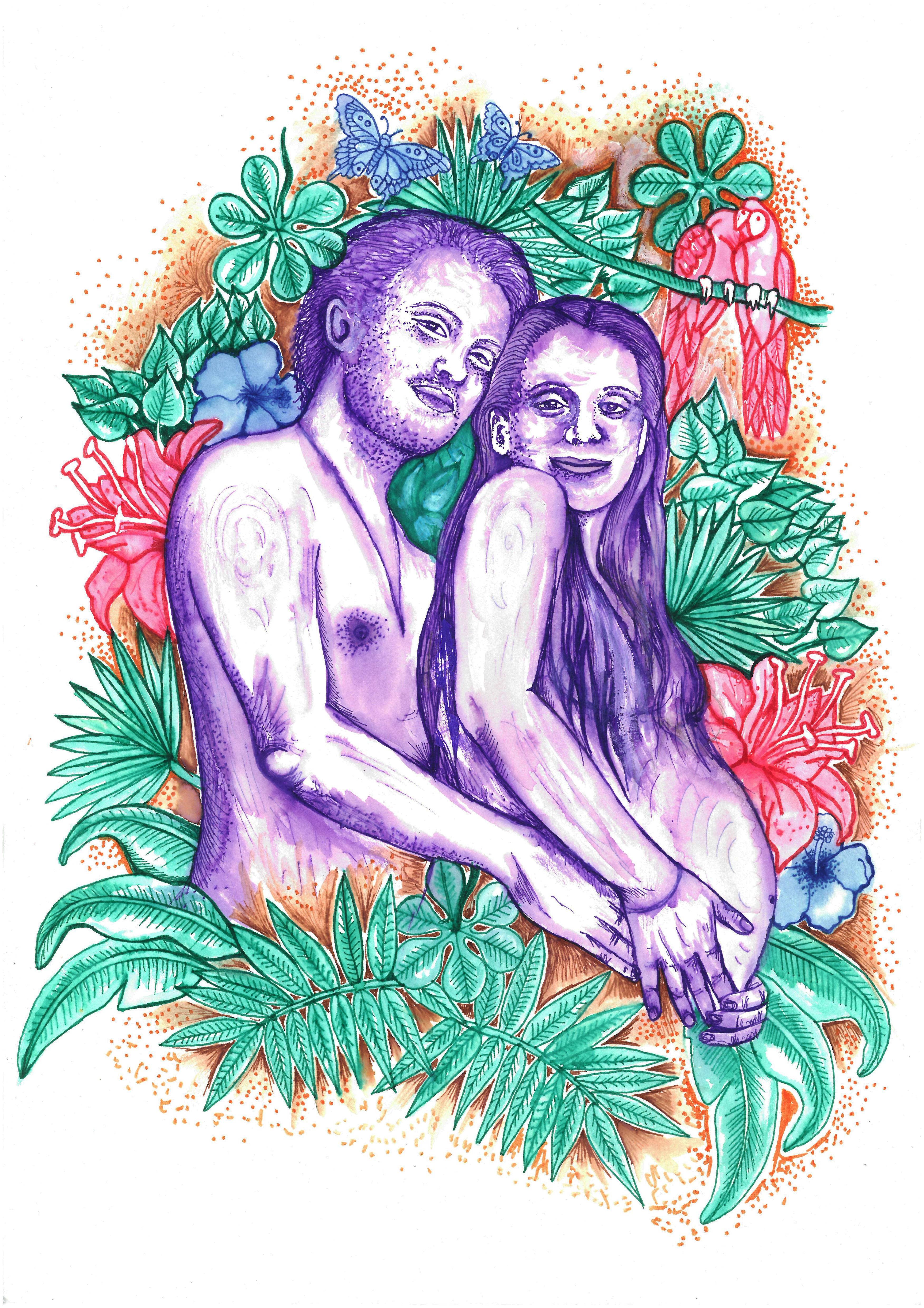 Consuelo y Simon