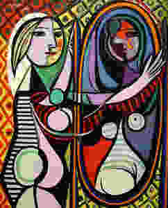 Pablo Picasso - Girl before a Mirror - mars 1932