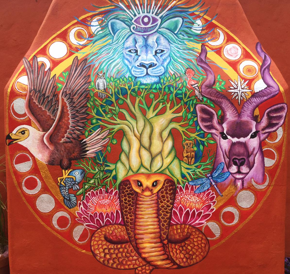 African Medicine Wheel 4